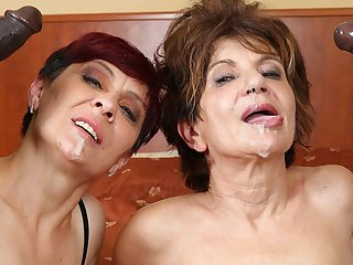 Grannies Hardcore Fucked Interracial Porn with Old Women mating