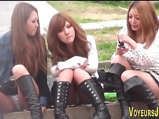 three cute girls sitting and speaking about sexual experience and desires