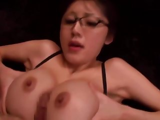 Asian big bosom girl fucked off out of one's mind coworker