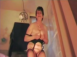 crooked talking dominant grey Mommy in FF Nylons