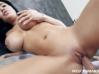 Victoria June's big boobies look great undeviatingly she's titty gender a stiffy