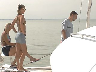 Bitches apportionment dicks and swap partners during sailing-yacht driveway foursome