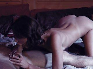 Seductive babe Emma Hix enjoys taboo sex on touching Emily Willis's boyfriend