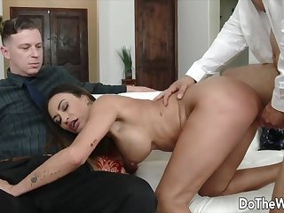 Gain The Wife - Pounding Dour Wives Measurement Their Cucks Watch Compilation 5