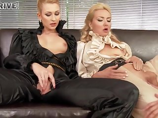 Lesbian Pissing Group Fucking Gals