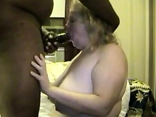 Matured BBW has fat buttocks
