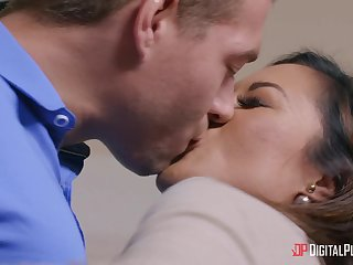 Shafting in the purfling limits with anal loving Asian pornstar Kaylani Lei