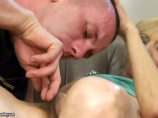 Hungarian Granny with Hairy Pussy Porn Membrane