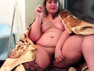 Flimsy BBW Home Alone Fucking Herself Masturbation biz