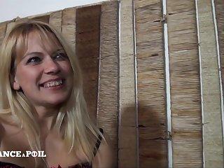 Frigidity France A Poil - Gorgeous 40 Yo Belgian Mom Gets Doub