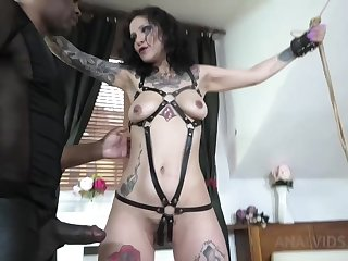 Natasha Tied Up And Assfucked Hard