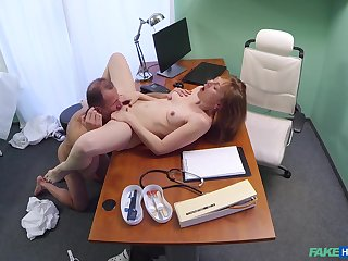 Luca Bella gives wide her young, tight body to scalding physician