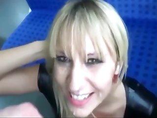 Sex In The Season With Pretty Milf. Cum Swallow