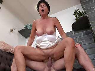 Petra is a daughter that is always in the mood to get fucked hard