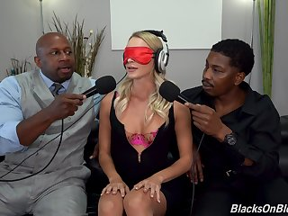 Blind paired woman is keen to go black on two heads