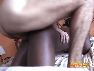 Making out African amateur booty in my hotel compass POV