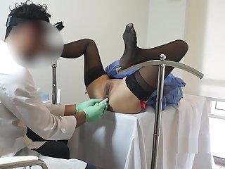 Gyno - Doctor Fucks Me Enduring - Swamateurcouple