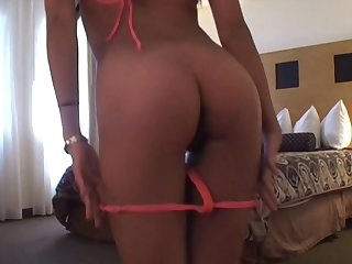 Inviting Asian chick Fallon drops on her knees to suck a dick