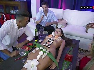 Hispanic lustful sluts jawdropping porn chapter